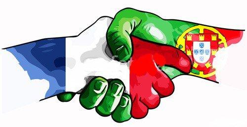 On est à la fois français et portugais .. C'est deux pays sont en nous !