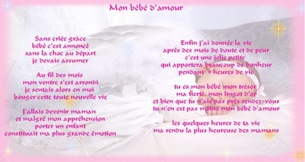 Amour Poeme Ma Fille Ma Fierte