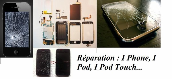 Toutes réparations Smartphone !!!