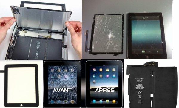 Toutes réparations Tablettes !!!