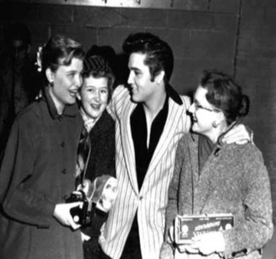 Photo :  Elvis Presley Ottawa, Canada Le 03. Avril . 1957
