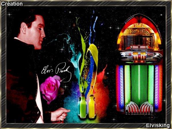 Création de Elvis Presley par Elvisking