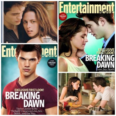 Premières photos officielles de Breaking Dawn ♥