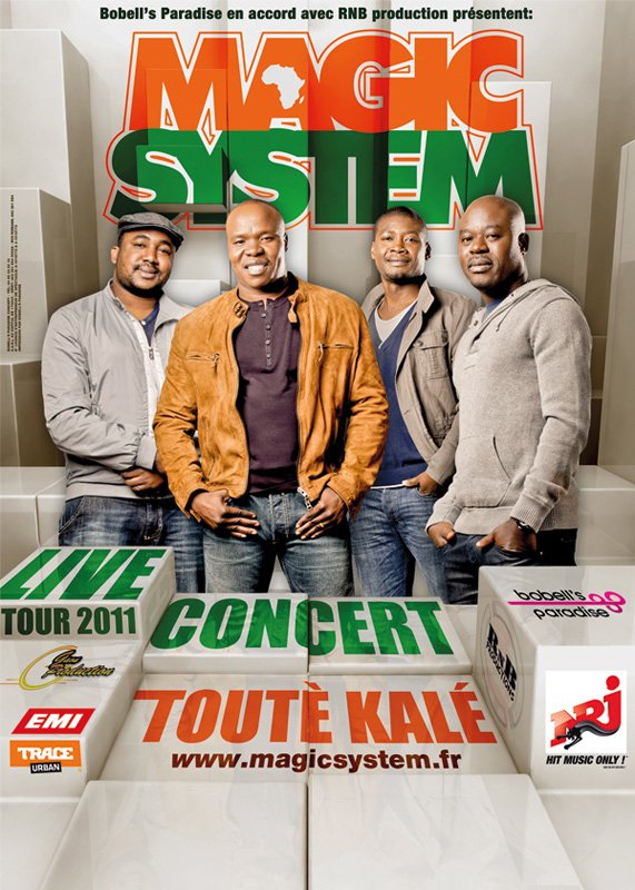 Magic System - Live Tour 2011