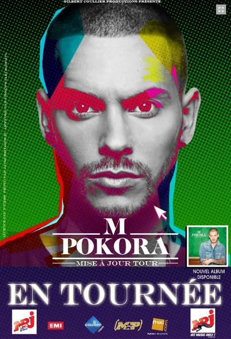 M.Pokora - Mise à Jour Tour