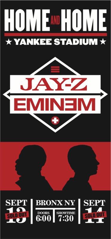 Eminem & Jay-Z - Home & Home Yankee Stadium