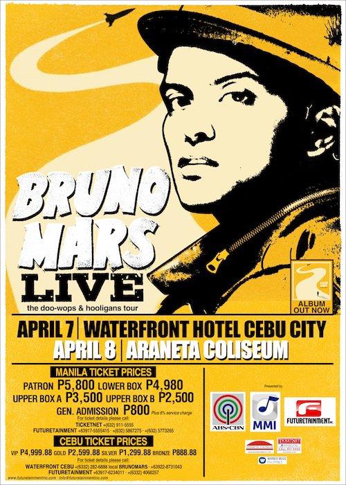 Bruno Mars - Live