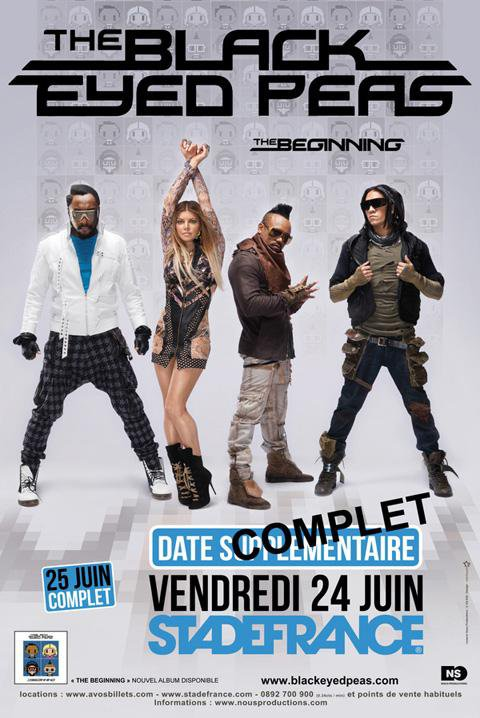 Black Eyed Peas - Stade de France