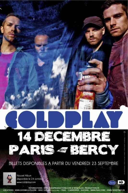 Coldplay - Paris Bercy
