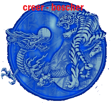 ying et yang:tigre et dragon