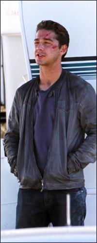 .28 Octobre 2010 : Shia et Patrick Dempsey etait sur le tournage de TF3 à Los Angeles. .