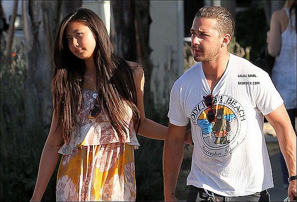 """__♦ Candids3 Mai 2011 : Shia et sa GF sont allé déjeuner au """"Sweet Butter Cafe"""" à Los Angeles, CA."""