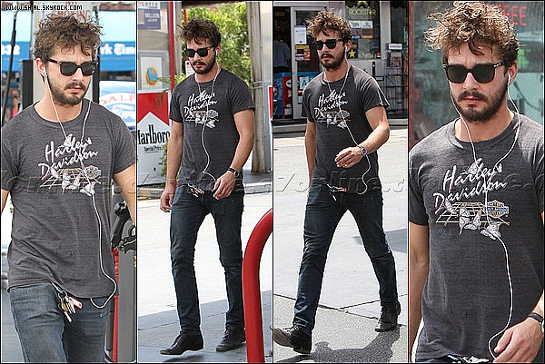 ;02/08/11 : Shia Labeouf a photographié été à Studio City dans une station essence, Los Angeles. TOP/FLOP?  :
