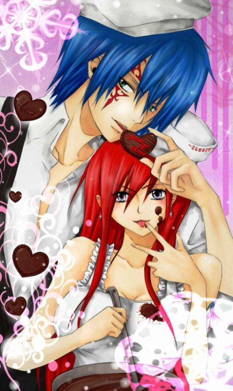 le couple jerza en mode valentines ;)