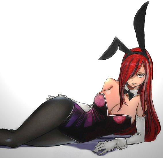 erza en bunny girl ;)