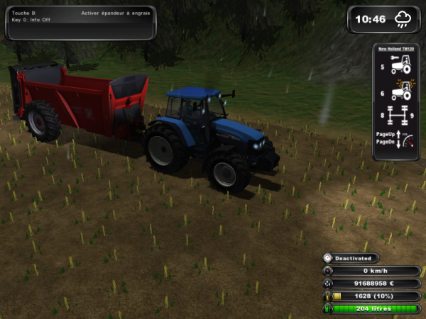 photo farming simulator 2011 ford; case ;culti horshe;masey fergusson avec culti gb; new holland