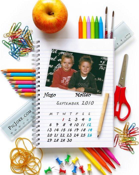Bonne rentrée scolaire 2010 à tous !