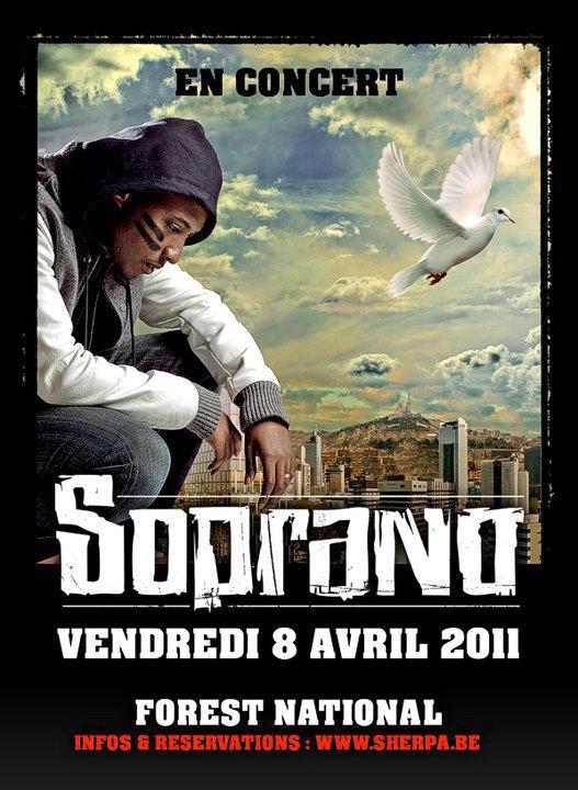 "soprano'' concert Bruxelles"""