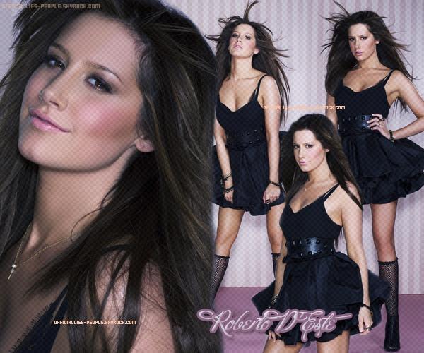 → Photoshoot Ashley Tisdale ♥