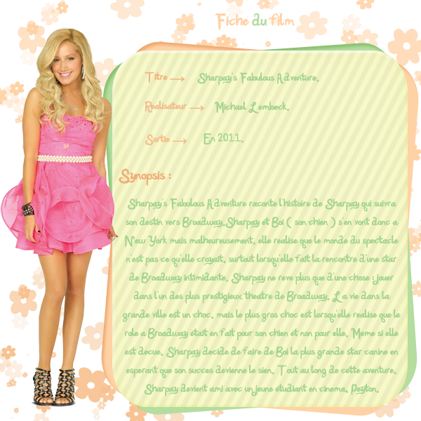 → Sharpay's Fabulous Adventure.