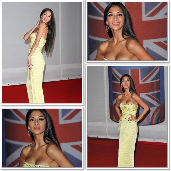 Le 21 février 2012 Nicole Scherzinger était aux Brit Award...TOP ou FLOP ??