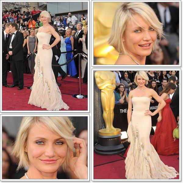 Le 26 février 2012 Cameron Diaz  était présente lors de l'Oscar Party organisé par Vanity Fair