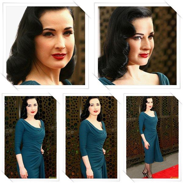 Le 08 mars 2012 Dita Von Teese a assistée à son DITA VON TEESE MUSE COLLECTION à Melbourne en Australie .