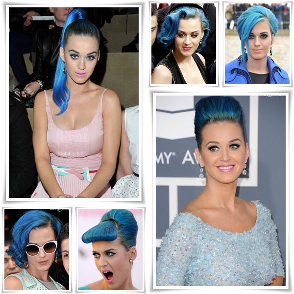 Katy Perry  et ses cheveux...