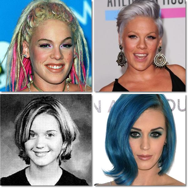Voici le deuxième article sur le changement de 4 stars : P!nk, Katy Perry, Madonna et Daniel Radcliffe, comme vous pouvez le voir, eux aussi ont bien changer !