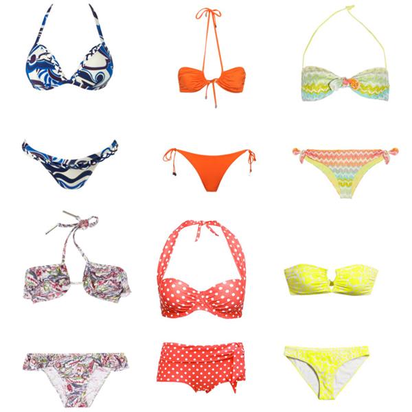 J'ai sélectionné pour vous 18 maillots de bains tous très  jolie, mais lequel préférez-vous? (tout les maillots de bains viennent des magasins : Camaieu, Pimkie,H&M,....)