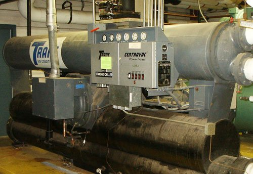 Air Conditioning Associates Denver Boiler Storage Room Installation: Chillers