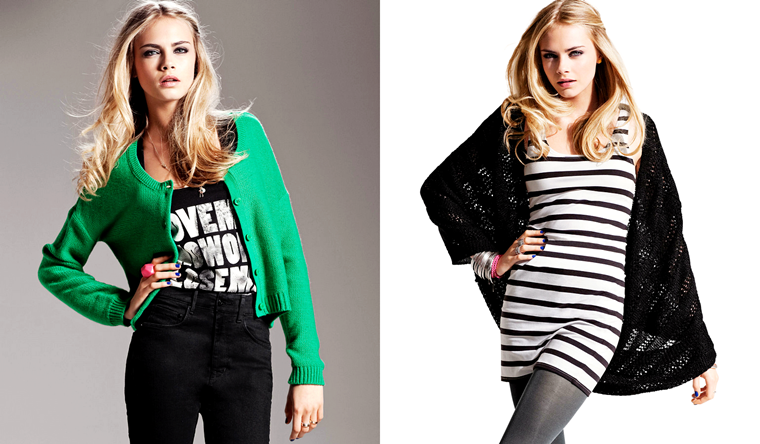 Cara Delevingne for H&M's Fall/Winter 2011 Campaign