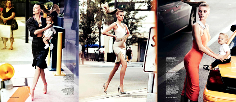 Maryna Linchuk for Vogue Russia, May 2012, photographed by Alexi Lubomirski