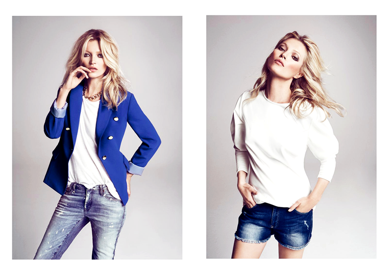 Kate Moss for Mango's Fall 2012 Campaign
