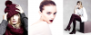 Lily Donaldson for Ahlens, November 2012