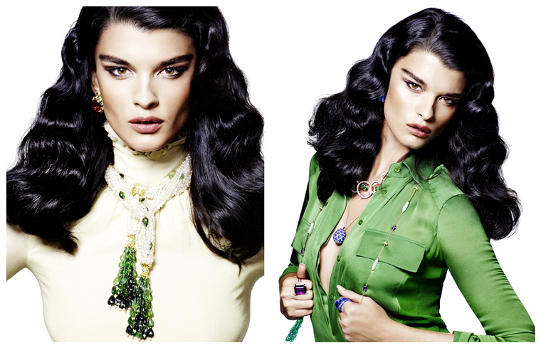 Crystal Renn for Vogue Germany, November 2012, photographed by Mark Abrahams