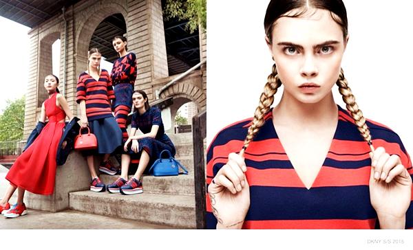 Cara Delevingne, Sam Rollinson, Soo Joo Park for DKNY, Spring/Summer 2015