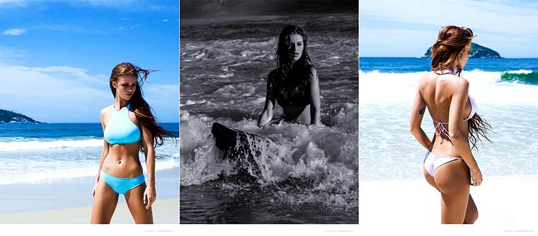Cintia Dicker for Dicker Swimwear