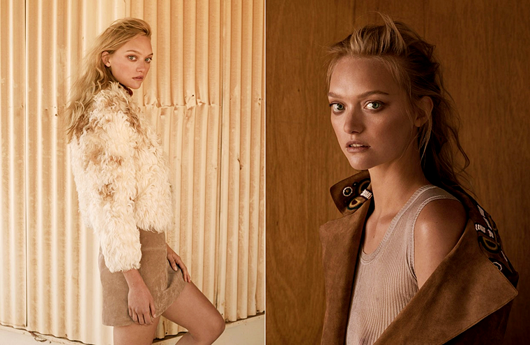 Gemma Ward for Russh, August/September 2015, photographed by Stephen Ward