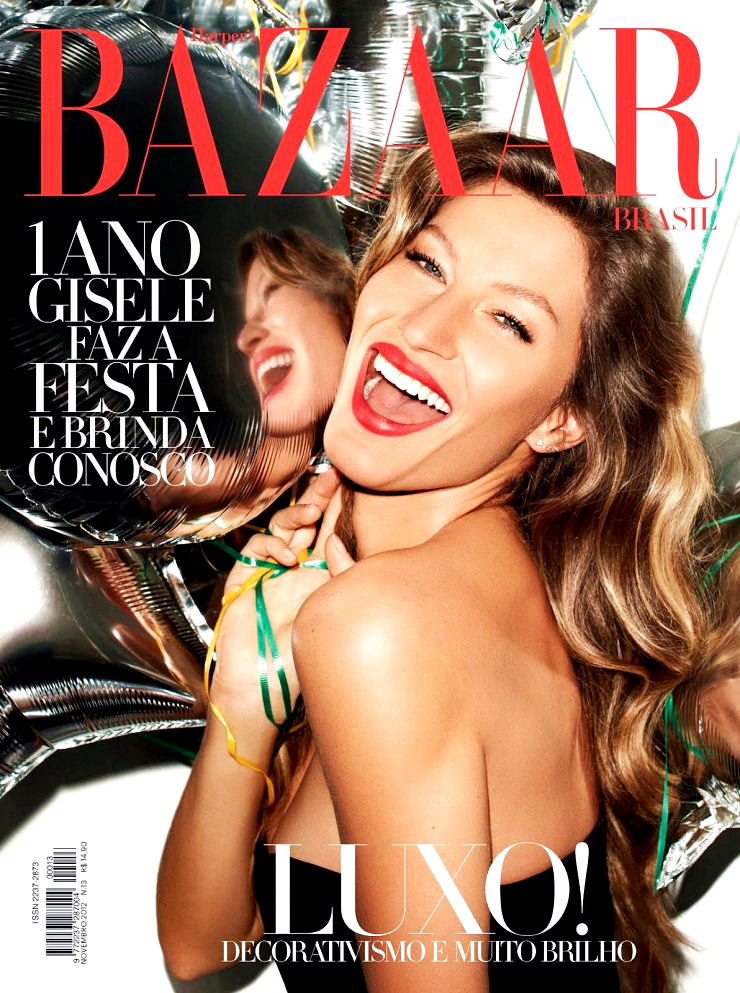 Gisele Bündchen for Harper's Bazaar Brazil, November 2012, photographed by Terry Richardson