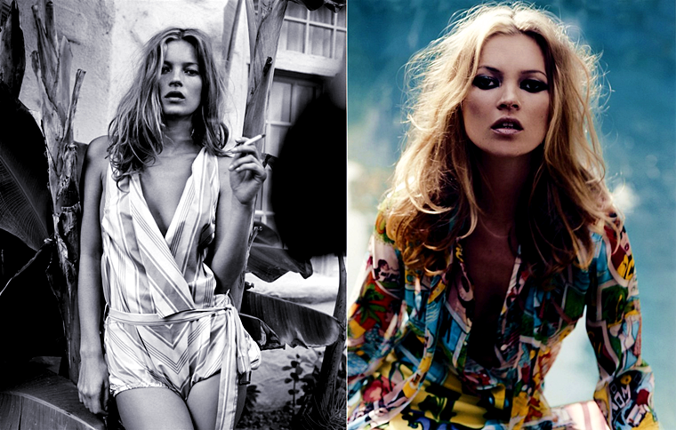 Kate Moss for Another Magazine #6, Spring/Summer 2004, photographed by Craig McDean