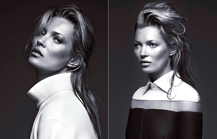 Kate Moss for Zoo Magazine, Fall/Winter 2013-14, photographed by Bryan Adams