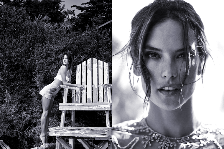 Alessandra Ambrosio for L'Officiel Turkey, June 2015, photographed by Stewart Shining (1)
