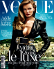 "Edita Vilkeviciute & Anja Rubik for Vogue Paris, ""French Riviera"", October 2013, photographed by Mario Testino (1)"