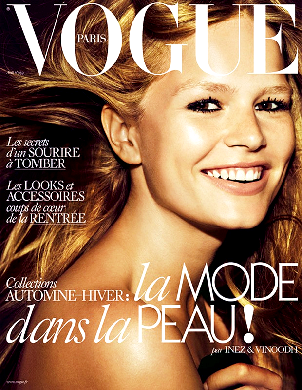 "Anna Ewers for Vogue Paris, ""Sauvage Innocence"", August 2015, photographed by Inez & Vinoodh"