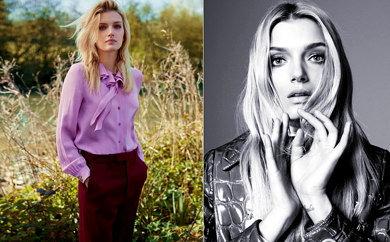 Lily Donaldson for Elle UK, August 2015, photographed by Kai Z Feng (2)