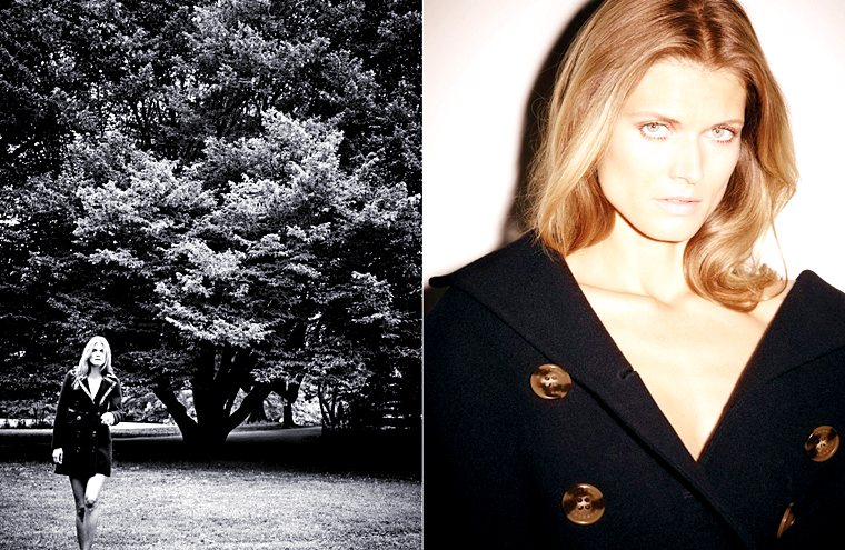 "Malgosia Bela for W Korea, ""Back to Elegance"", August 2015, photographed by Ezra Petronio"