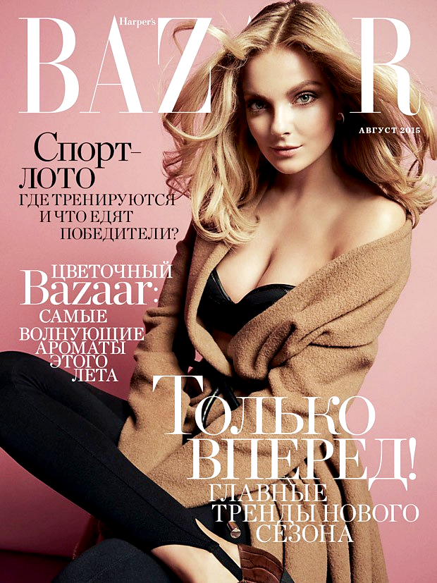 "Eniko Mihalik for Harper's Bazaar Russia, ""Right Connections"", August 2015, photographed by Mari Sarai"