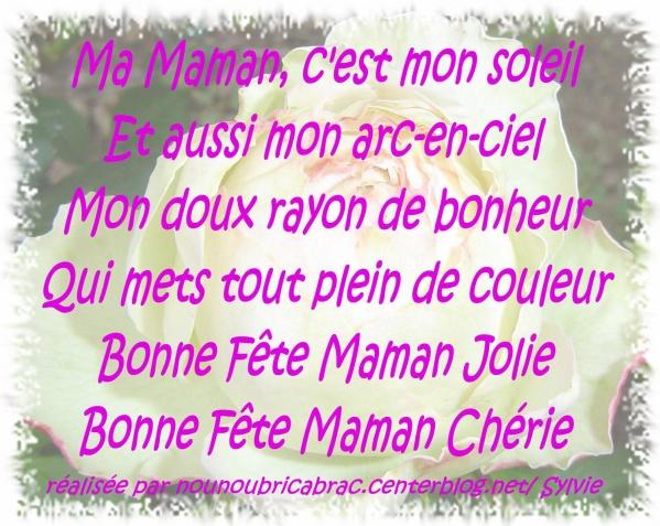 Poéme Pour Ma Maman Blog De Sasabodin17