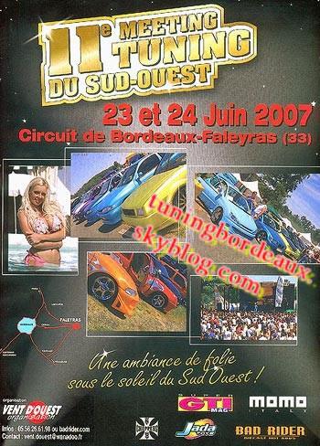 11eme meeting de tuning SUD-OUEST  2007 Circuit de Faleyras (33)